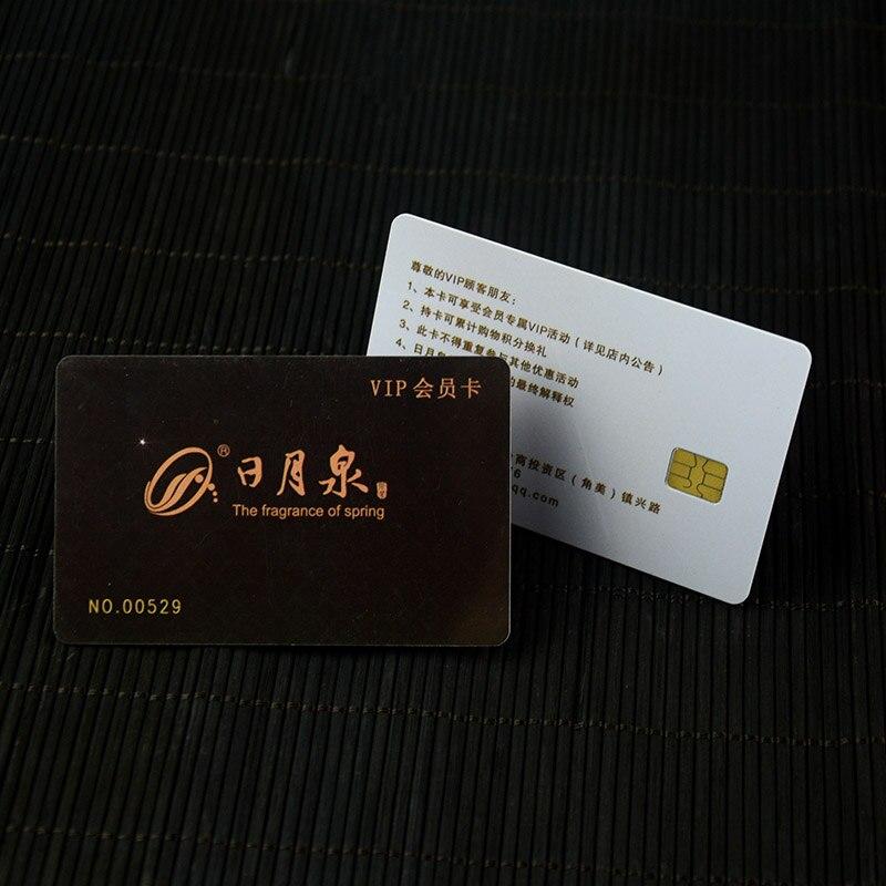 Benutzerdefinierte Druck Kunststoff Pvc Vip Mitgliedschaft