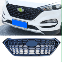 For Hyundai Tucson 2015 2018 Front Bumper RACING GRILLE GRILL FRONT MASK COVER GRILLS Replace Original Car Styling Auto Parts