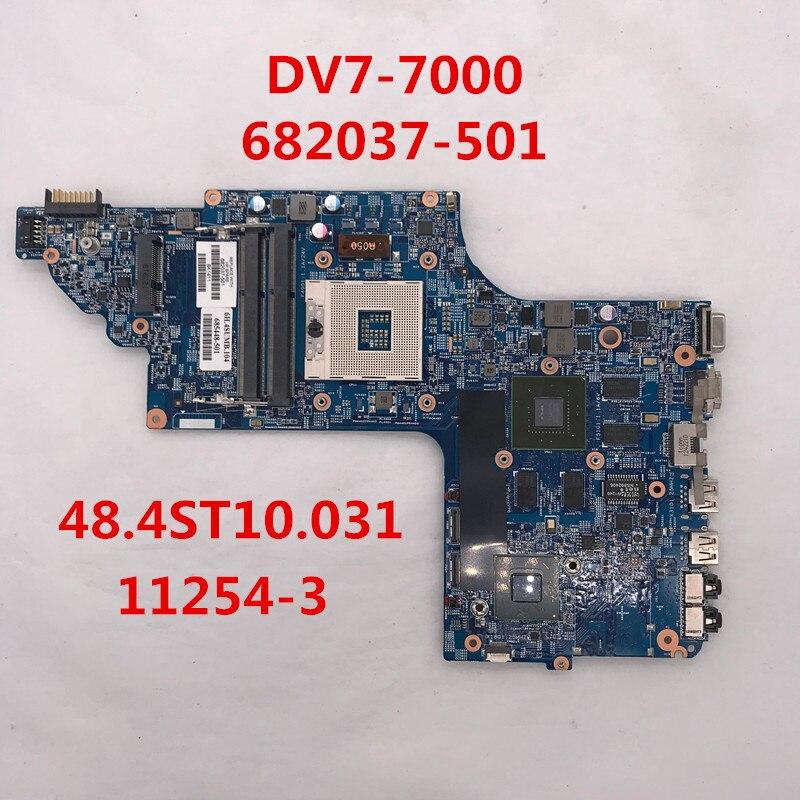 Para Dv7 Dv7-7000 682037-501, 682037-001 685448-501 48.4st10.031 11254-3 Placa Base De Computadora Portátil Hm77 Gt630m /2g Ddr3 100% Probado Los Clientes Primero