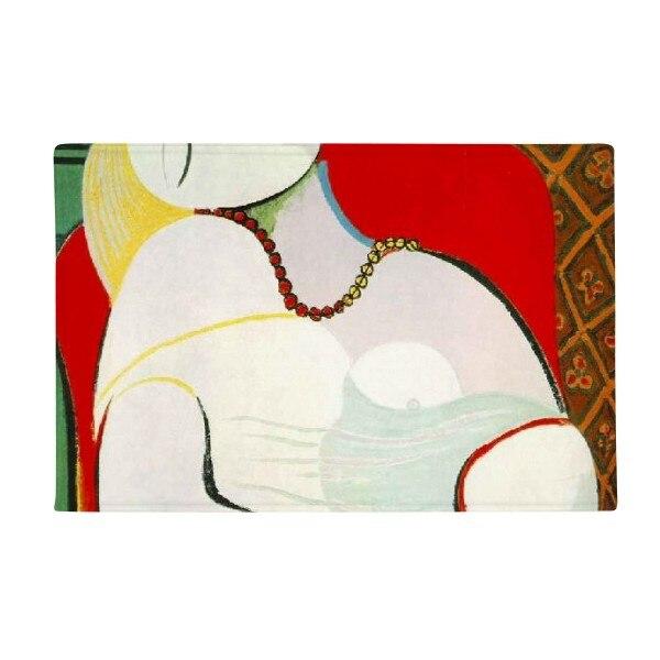 The Dream Oil Painting Pablo Picasso Anti Slip Floor Mat