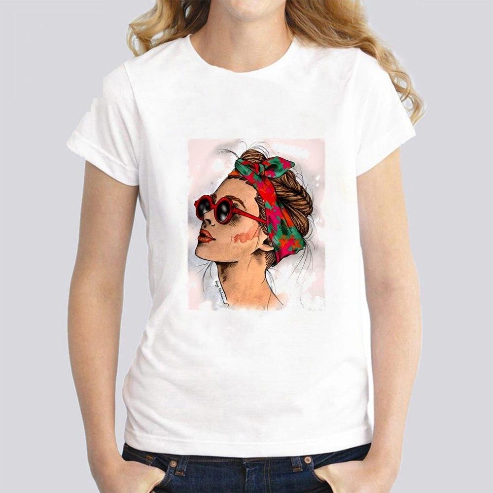 T-Shirt Women female Printing Short Sleeves t shirt tshirt Cool Print Female Summer Harajuku