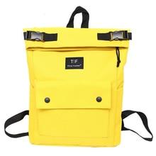 Harajuku Oxford Women Backpack 2018 Casual Backpack Waterproof Bag for School Teenager Girls Bucket Solid Color Mochila Feminina