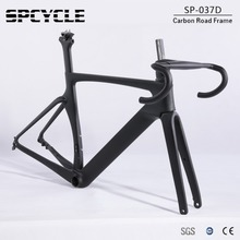 Spcycle Disc Brake Carbon Road Bike Frame T1000 Carbon Full internal Cable Routing Racing Bicycle Frameset 100/142mm Thru Axle 2018 new carbon bike frame toray t1000 full carbon fiber disc brake bicycle frameset 46 50 52cm ceccotti bike frames