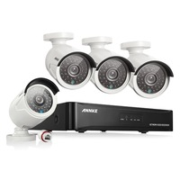 ANNKE 4CH 1080P CCTV System POE NVR 1080P Video Output 4PCS 3000TVL 2 0 Mp CCTV