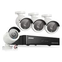 ANNKE 4CH 1080P CCTV System POE NVR 1080P Video Output 4PCS 3000TVL 2 0 Mp CCTV