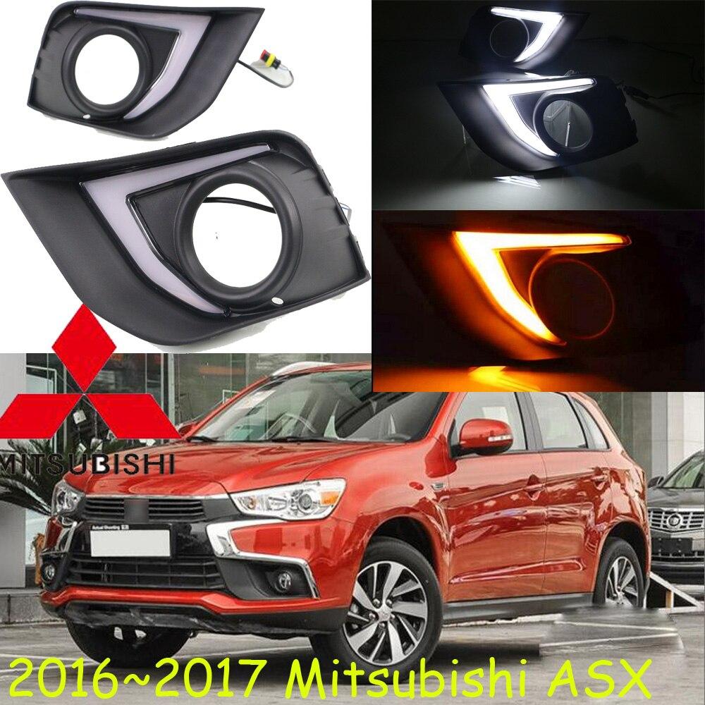 car styling,2016 2017 2018year, ASX daytime light;Galant,verada, Free ship!LED,ASX fog light,chrome,Outlander,Pajero,montero,ASX