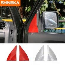 SHINEKA ABS Car Styling A Pillar Decoration Cover Trims for Suzuki Jimny 2007+ High Quality Car Accessories стоимость