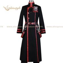 Kisstyle Fashion D.Gray-man Yu Kanda 3G Uniform COS Clothing Cosplay Costume,Customized Accepted