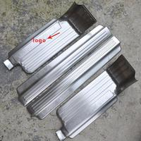 Stainless Steel Door Sill Scuff Plates Door Sill Strip Welcome Pedal For Mitsubishi Pajero Sport 2010