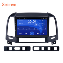 Seicane Android 6.0 9 inch Car Multimedia player GPS Navi For HYUNDAI SANTA FE 2005 2006 2007 2008 2009 2010 2011 2012 with WIFI
