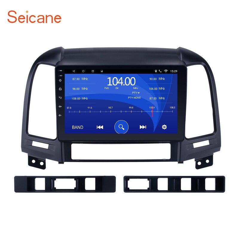 Seicane Android 8,1/7,1 9 дюймов Автомобильный мультимедийный плеер gps Navi для HYUNDAI SANTA FE 2005 2006 2007 2008 2009 2010 2011 2012