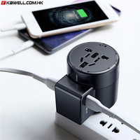 Universal USB Travel Charger for smart phone Whirl USB AC Powered Travel Portable Phone Charger Adapter