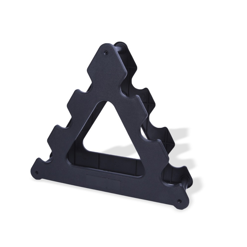 1PC Useful Dumbbell Bracket Triangle Small Leaves Big Leaves Different Shapes Dumbbell Bracket Fitness Equipment Accessories(China)