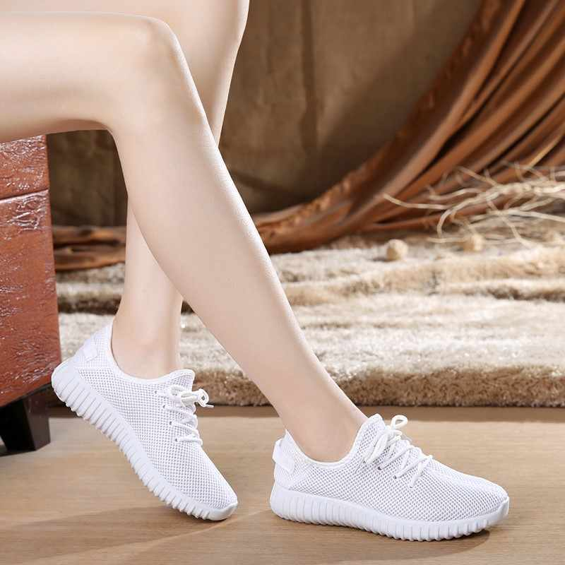 retail prices united states separation shoes Women Casual Shoes Summer 2019 White Mesh Candy Colors Flats Shoes ...