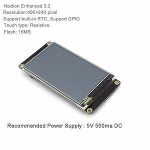 Image 3 - Nextion المحسن 3.2 HMI شاشة تعمل باللمس 400*240 بكسل لوحة الشاشة NX4024K032 مع I/O تمديد لوح تمديد FZ1718E + FZ2280