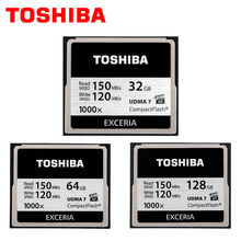 TOSHIBA, Compactflash memory card, 32 gb, high-speed reading speed can reach 1000 x, 64 gb,To record the full hd video.