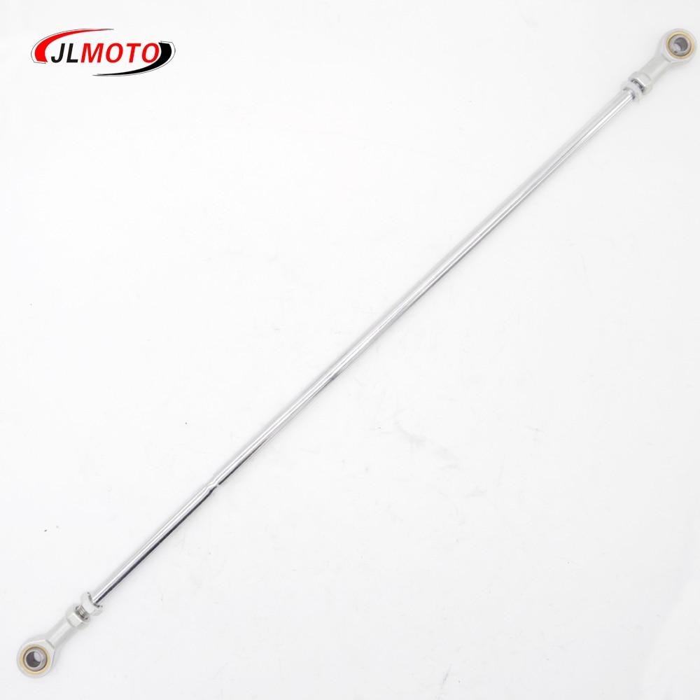 1PC 540mm 10mm Steering Tie Rods Kits Fit For China 168F 200F 188F 110cc 50cc 125cc 150cc Go Kart Buggy UTV ATV Bike Motor Parts