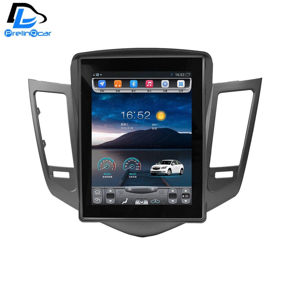 imágenes para 32G ROM pantalla Vertical android gps del coche multimedia video player radio en el tablero para Chevrolet CRUZE de navegación estéreo
