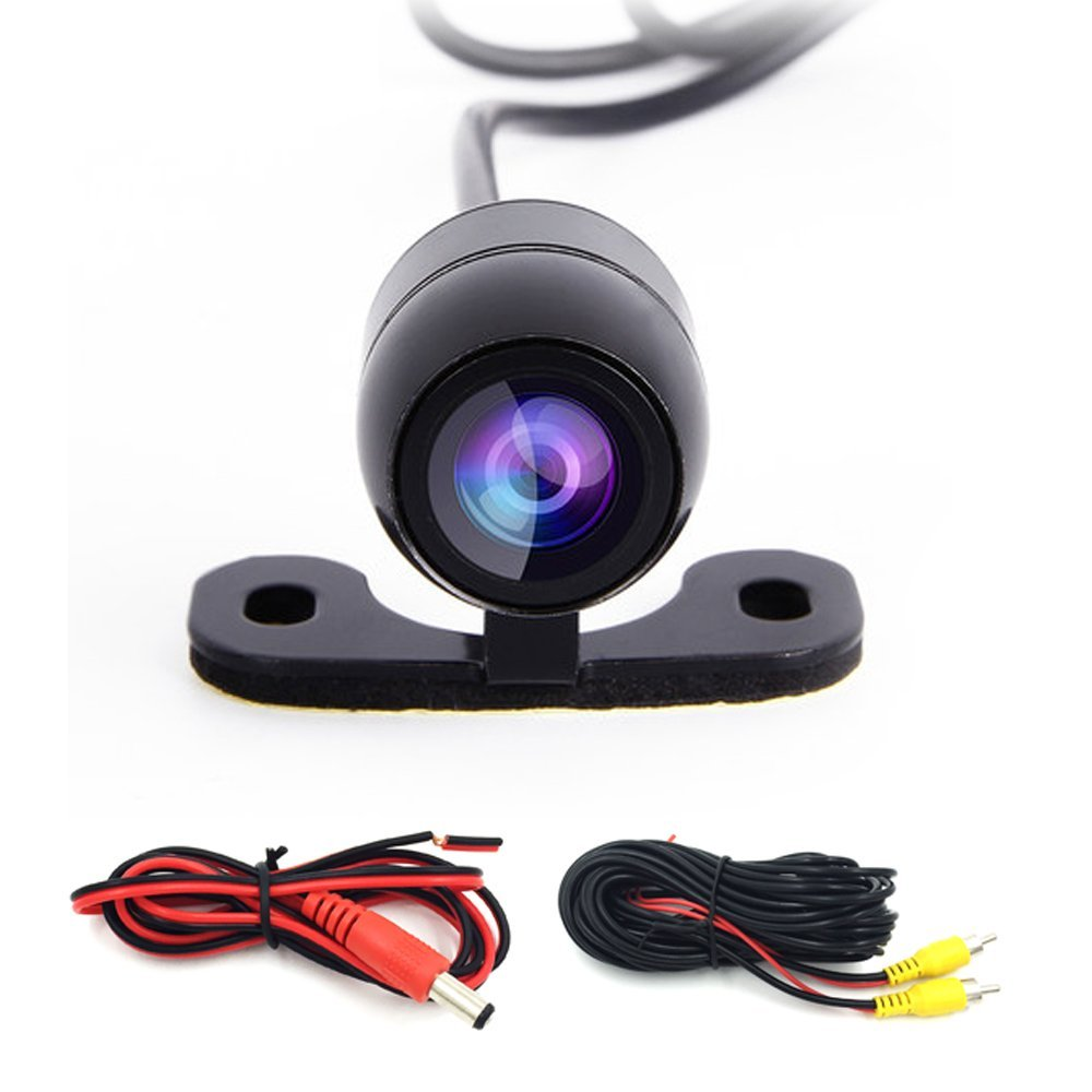 Free Shipping HD Car Rear Camera Built-in Distance Scale Lines Waterproof Car Rear View Camera Car Reverse Front Camera