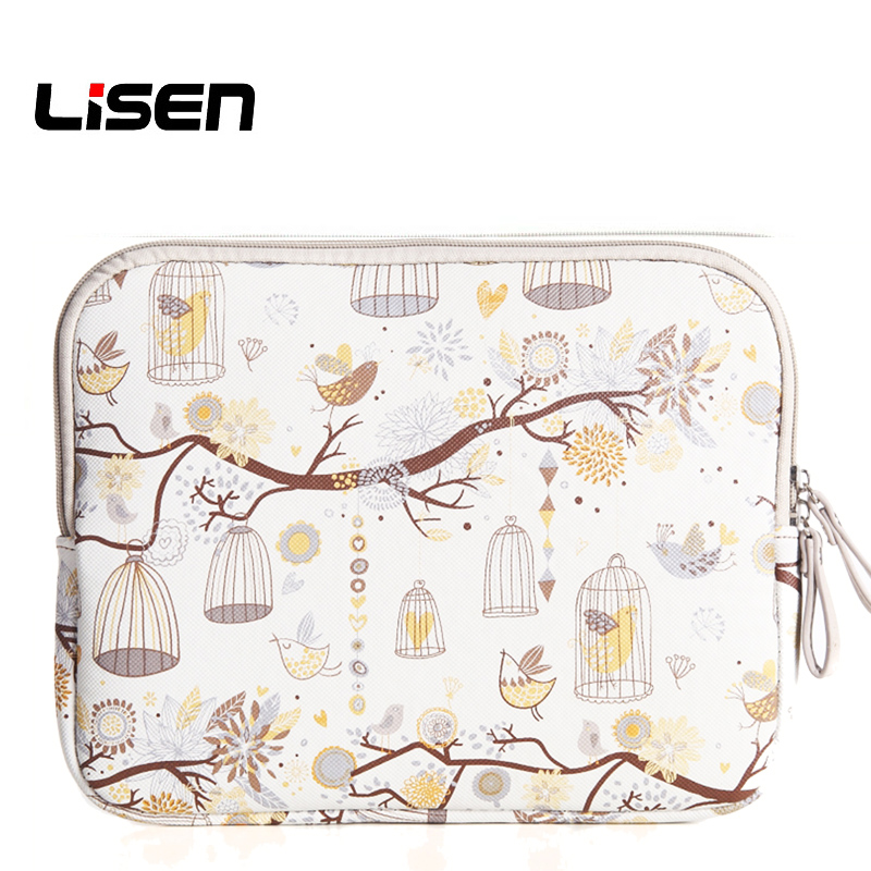 Lisen Fly Bird Portable Notebook Laptop Sleeve Bag Cover Waterproof Carying Case for Samsung Lenovo Macbook 10 12 13 14 15 inch