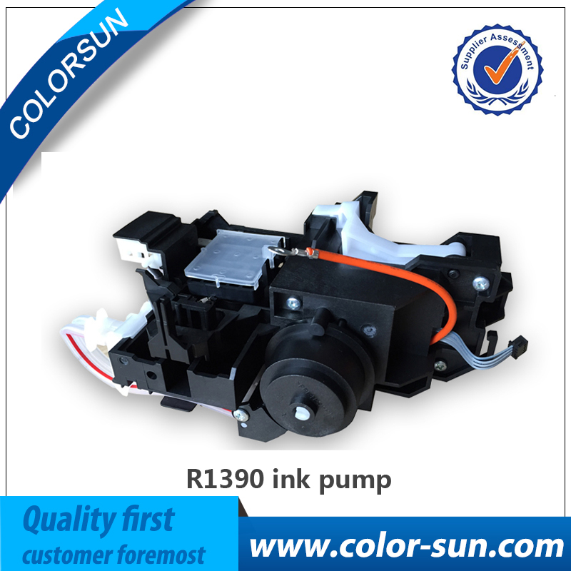 High quality New and original Ink Pump for Epson R1390 R1400 Printer Pump As embly Ink System Assy 1 set original and new ink pump for epson r1400 r1390 r1410 r1430 me1100 printer 1400 1390 1410 1430 cap station
