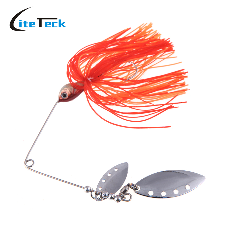 New fishing lure spinnerbait fresh water shallow water for Walleye fishing tackle