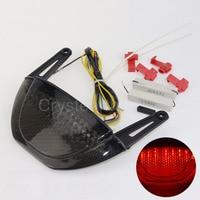 For Honda CBR600RR CBR 600RR CBR 600 RR 07 08 09 10 11 12 LED Integrated Rear Tail Brake Light With Turn Signals Lamp Taillight