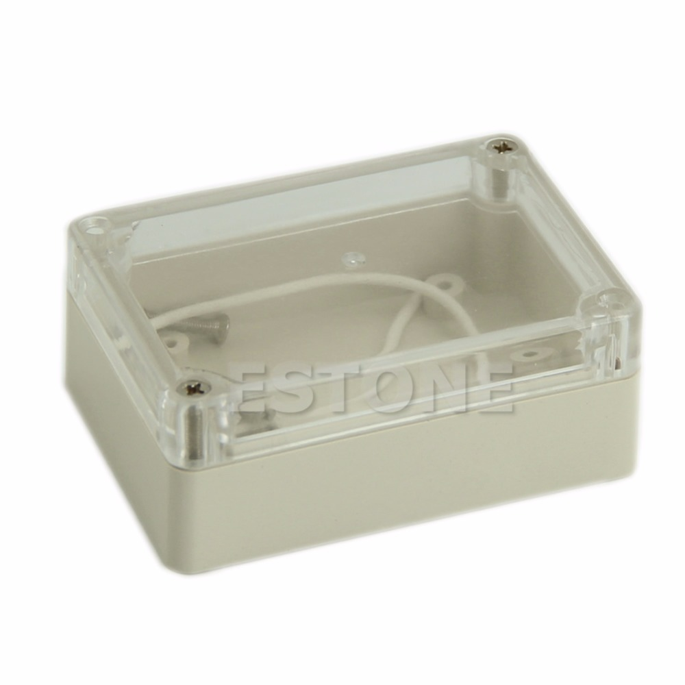 Buy 1pc 85x58x33mm Waterproof Cover Clear