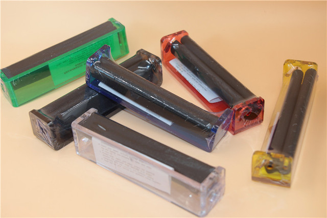 12pcs 110mm cigarette rolling machine plastic acrylic easy Hand