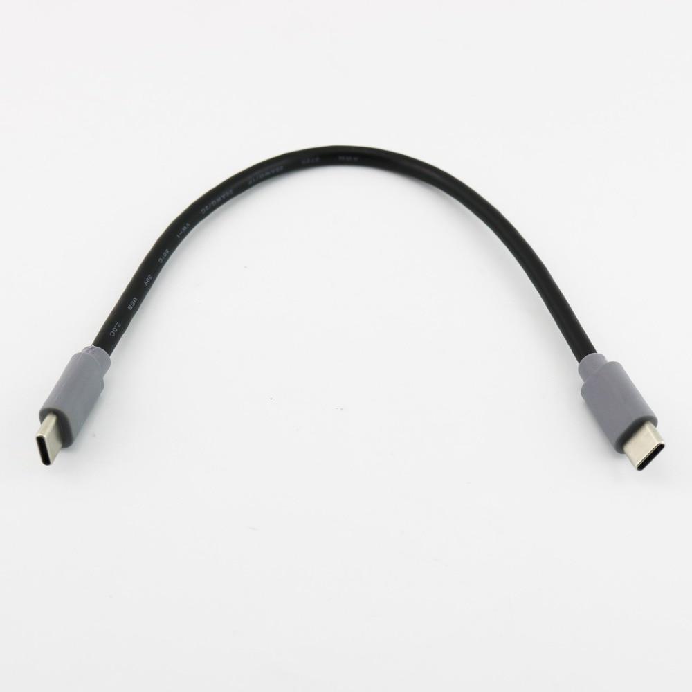 1 Stücke Usb Typ C 3,1 Stecker Auf Usb Typ-c 3,1 Stecker Konverter Otg Adapter Blei Daten Kabel Für Mobile Macbook 25 Cm/1 M 3ft Entlastung Von Hitze Und Sonnenstich
