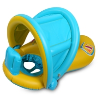 Baby Kids Summer Swimming Ring Water Pool Float Boat