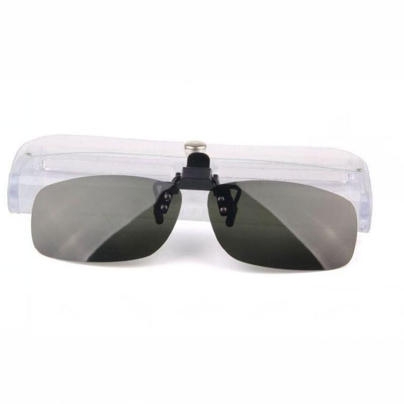 Polarizadas Clip On Flip Up gafas de sol sin montura barato sin ...