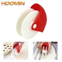 HOOMIN Режущий инструмент для домашнего творчества кондитерские изделия Cuter Rolling Wheel руководство лапши резак нож пластик кухонные аксессуары