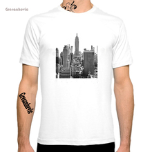 New York City New Fashion Men's T-shirts Cotton t shirts Man Clothing Wholesale