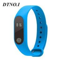 DTNO.I mi band 2 M2 Smart Bracelet Heart Rate Monitor Bluetooth Smartband Health Fitness Tracker SmartBand Wristband
