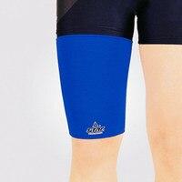Leg Sleeve Support Brace Knee Pads Kneepad Basketball Sport Compression Stretch Brace Thigh Skin Protector Safe