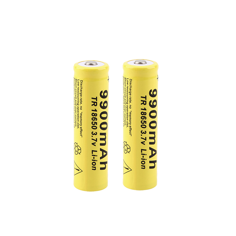 2/3/4/5pcs 18650 Battery 9900mAh 3.7V 18650 Rechargeable Battery Li-ion Lithium Bateria For LED Flashlight Torch Lithium Battery