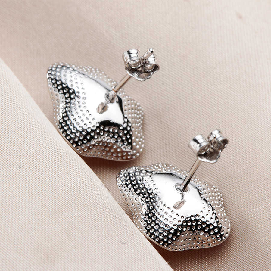 Women Elegant Real Natural Freshwater Pearl Pendant/Earring Wedding Jewelry Set Fashion 925 Sterling Silver Shell Pendant Design