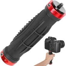 """Câmera Pega Suporte Universal Mount Handlegrip Estabilizador de Câmera com 1/4 """"Rosca Macho para Câmera de Vídeo Digital Camcorder"""