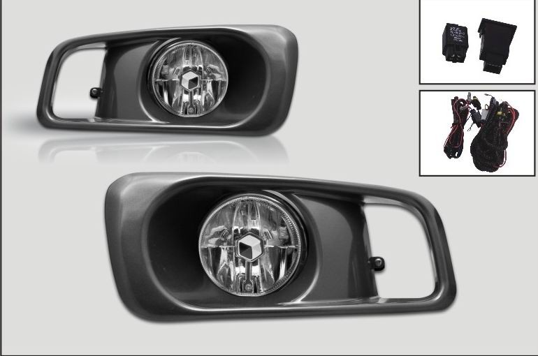 Case for for Honda Civic SI Type R fog light Front Driving Lamps 1999 2000 H3