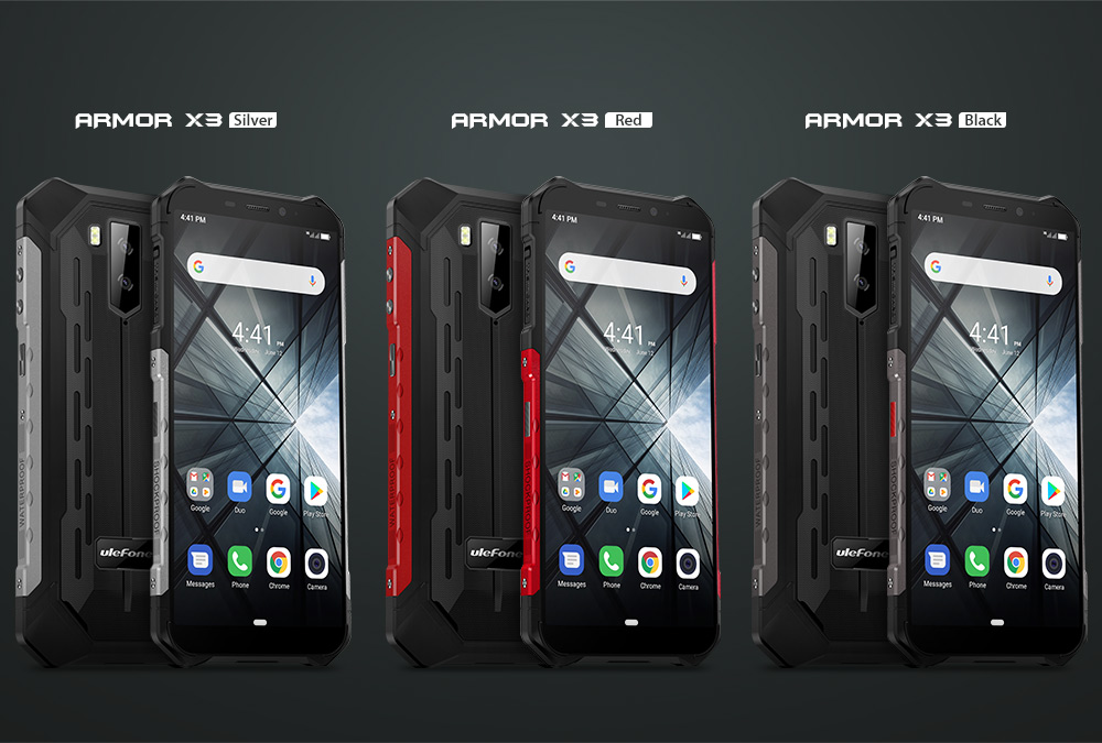 Ulefone Armor X3 Rugged Smartphone Android 9.0 IP68 Android 5.5