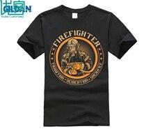 Fire Fighter Tshirt 2018 custom mens T-shirt short-sleeved fashion printed based shirt