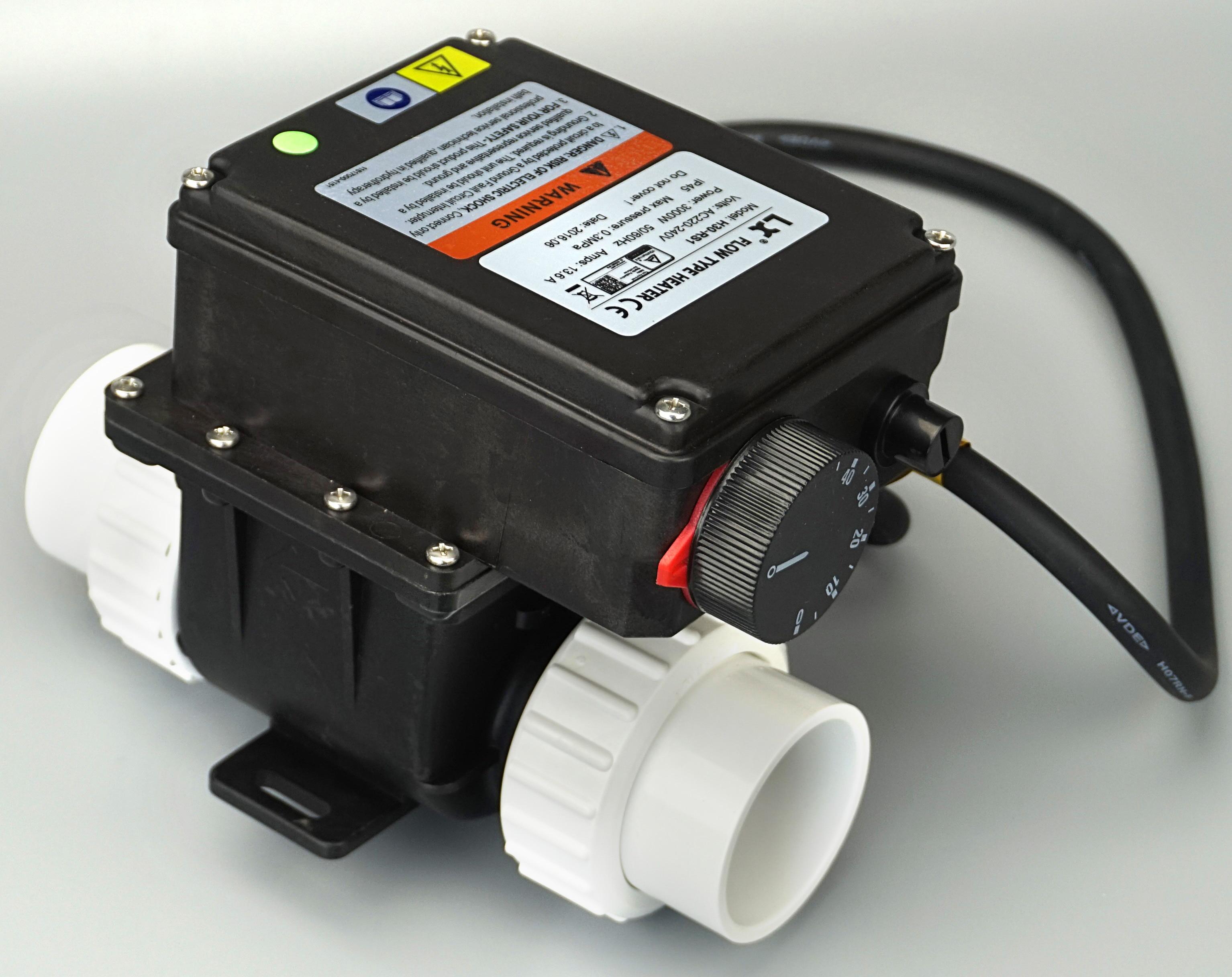 China LX H30 RS1 3kw Elektro Spa Heizung Mit Temperaturregler Für Badewanne  U0026 Whirlpool Spa Pool 3000 Watt Wasser Heizung In China LX H30 RS1 3kw  Elektro ...