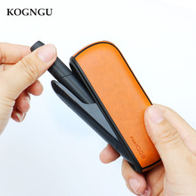 Kogngu for IQOS 3.0 Holder Wallet Pouch Bag Protective Cover Electronic Cigarette iQOS 3 Case Carry Leather Case