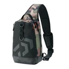 2018 New Daiwa Men Women Single Shoulder Fishing Bags Waterproof Leisure Multi Function Camouflage Backpacks Fishing Gear Kit