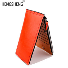 Slim Long Designer Famous Luxury Brand Women Dompet Lady Perempuan Coin Purse Carteras Clutch Bag Walet Money Cuzdan Pocket Vallet