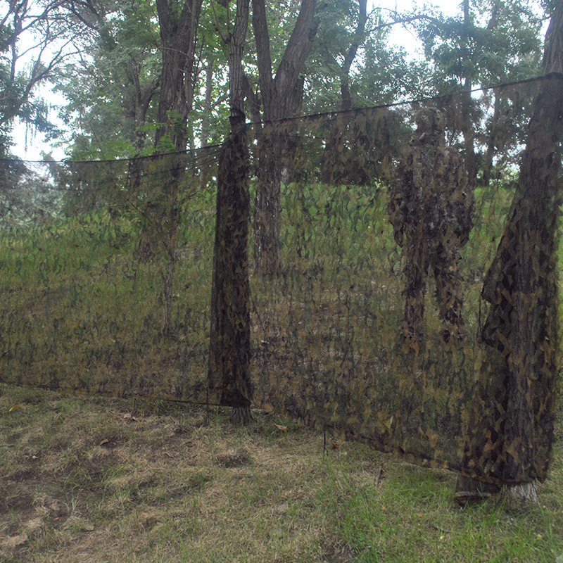 3D Oxford Jungle Camouflage Net 1.5X3M Camo Netting for Camping and Hunting Hidden or Sun shelter or Car covers Free Shipping camo net 4x5m home decoration desert camouflage net outdoor camping sun shelter high quality military camouflage netting