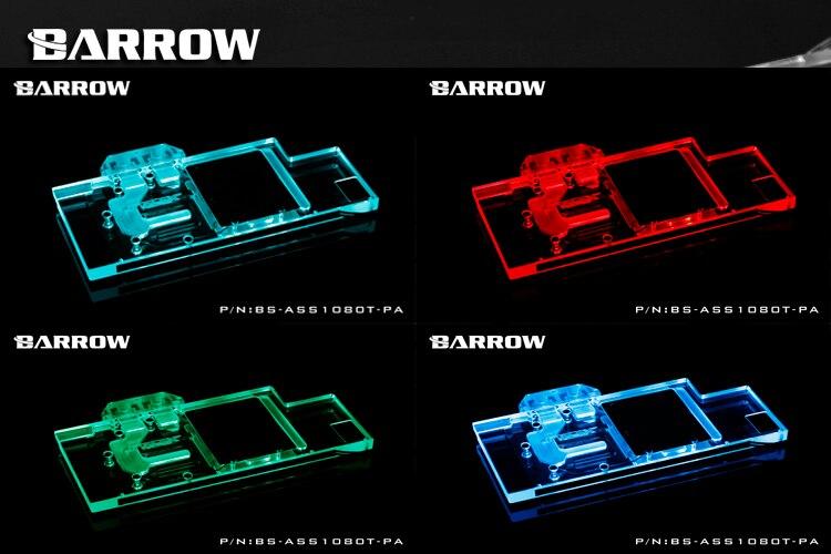 US $90 69  BARROW Full Cover Graphics Card Block use for MSI GTX1070 AERO  ITX 8G OC Copper Radiator Cooler GPU Block RGB Light to AURA 4PIN-in Fans &