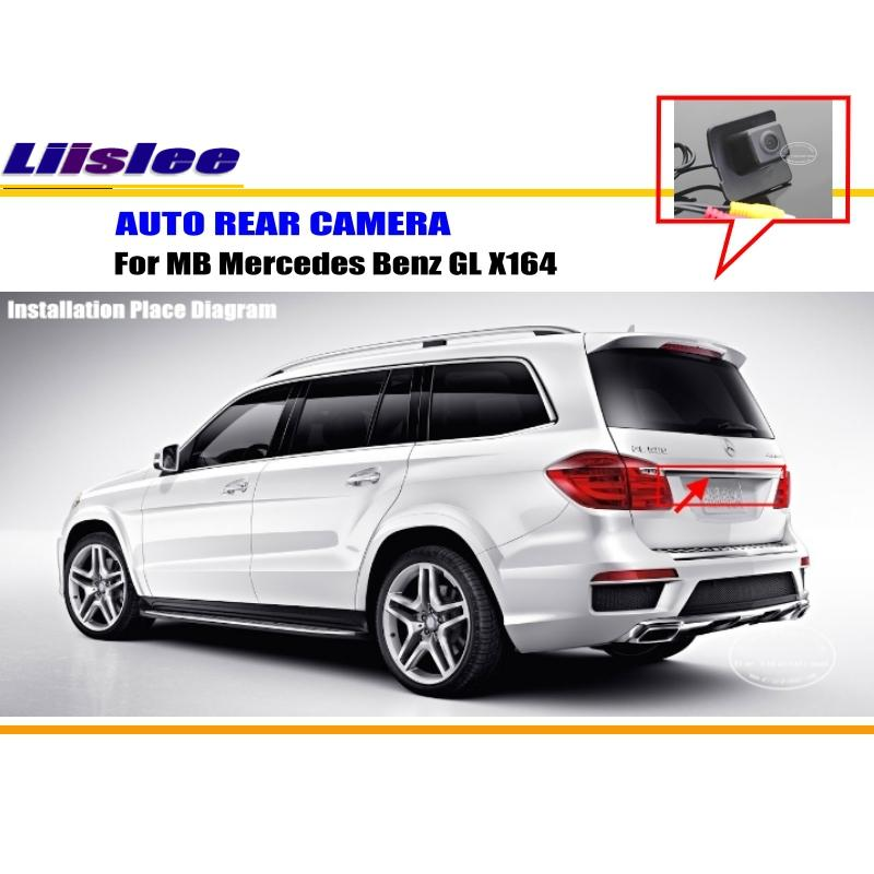 Liislee For Mercedes Benz GL X164 - RearView Camera / Backup Parking Camera / HD CCD RCA NTST PAL / Reverse Hole Camera