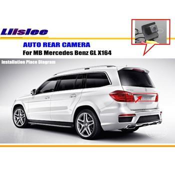 Liislee For Mercedes Benz GL X164 - RearView Camera / Backup Parking Camera / HD CCD RCA NTST PAL / Reverse Hole Camera liislee dynamic guidance rear camera for toyota ist urban cruiser 2007 2016 hd 860 pixels parking intelligentized